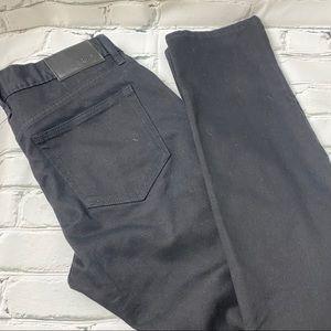 NWOT Rude men's skinny black jeans